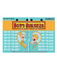 Bob's Burgers Andy&Ollie BFF necklaces