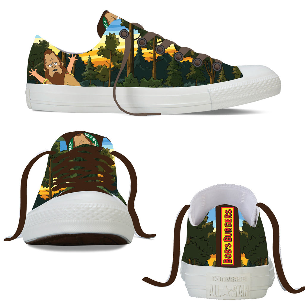 BEEFSQUATCH!!  low lace up shoes (limited edition of 150)