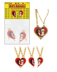 Wondercon 2020 Bob's Burgers Bob & Linda Necklaces