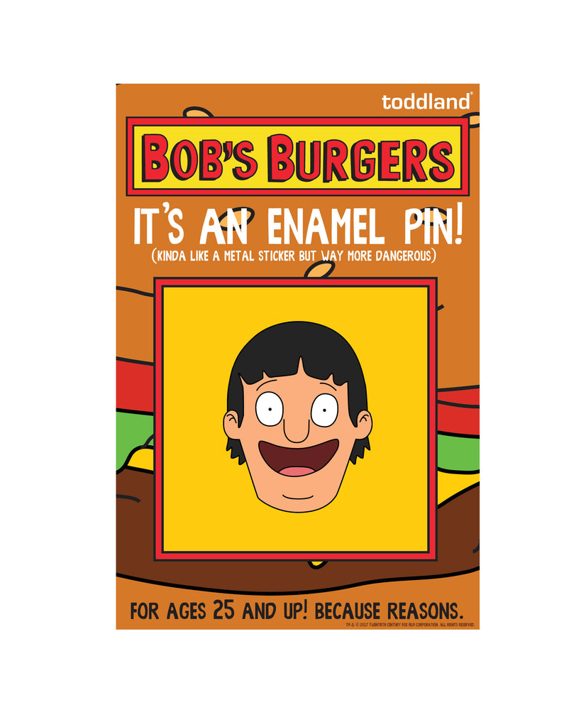Copy of Bob's Burgers LIVE enamel pin - Gene - le of 175 (ORPHEUM PICKUP ONLY)