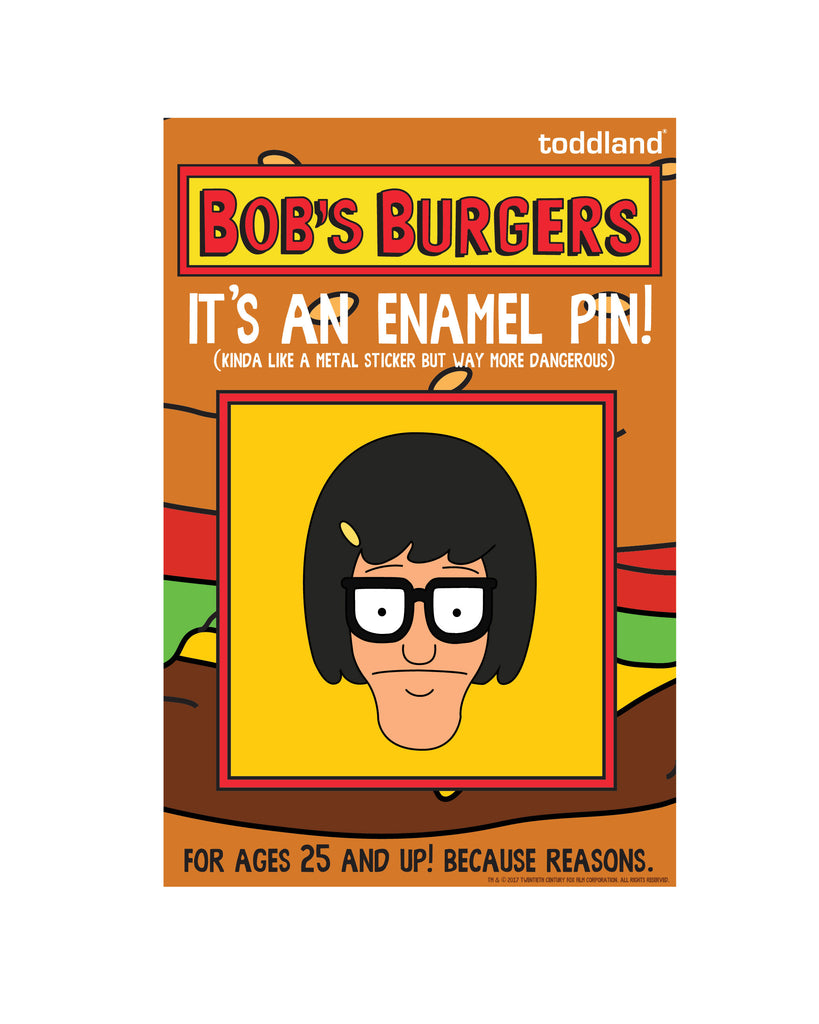 Bob's Burgers LIVE enamel pin - Tina - le of 250(ORPHEUM PICKUP ONLY)