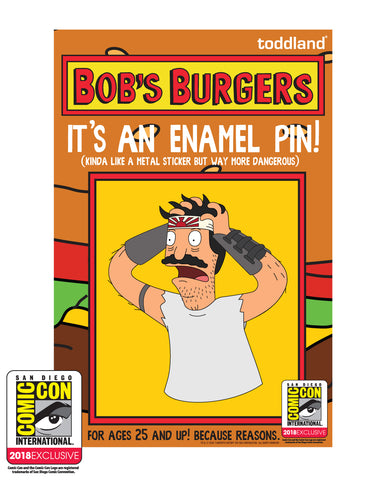 SDCC 2018 Exclusive Burger Boss pin (SDCC pickup only)