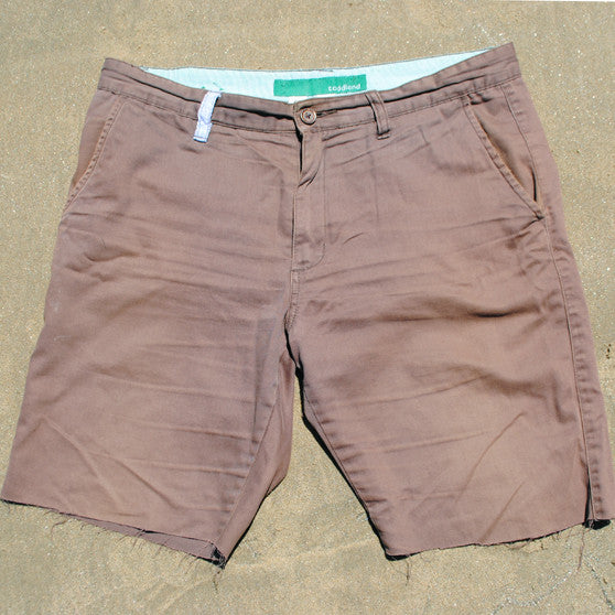 shipwreck shorts - chocolate