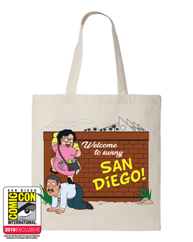 SDCC 2018 Exclusive CON-suela tote (SDCC pickup only)