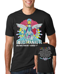 Bob's Burgers Equestranauts Wondercon 2017 exclusive tee - dark gray (WONDERCON PICKUP ONLY) le of 75pcs