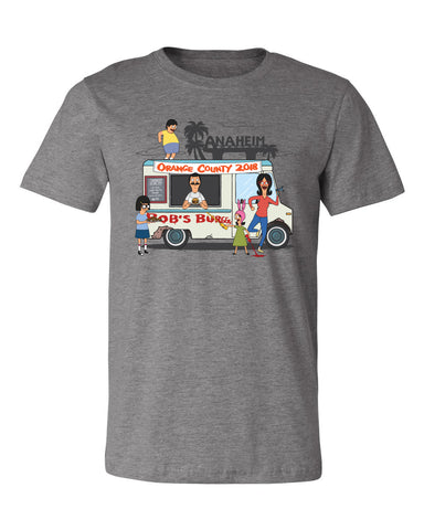 Wondercon 2018 Exclusive Food Truck tee - Heather gray (Wondercon pickup only)