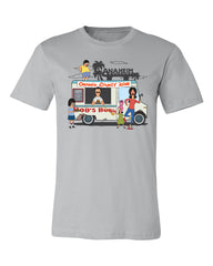 2018 Wondercon Bob's Burgers Food Truck tee – gray (pickup only)