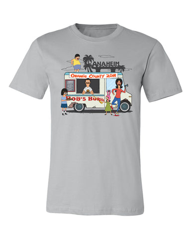Wondercon 2018 Exclusive Food Truck tee - Silver gray (Wondercon pickup only)