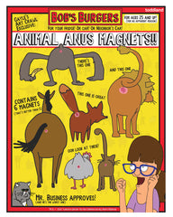 Gayle's Animal Anus Magnets (limited edition of ???)
