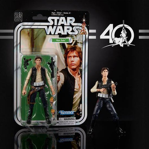 "Hasbro - 6"" Star Wars Black Series 40th anniversary - Wave 1 - Han Solo (pre-order)"