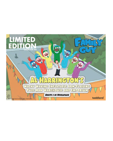 2020 Family Guy Al Harrington's enamel pin (limited edition of 100)