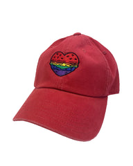 Pride 2020 - Embroidered Heart Burger hat - Bob's Burgers