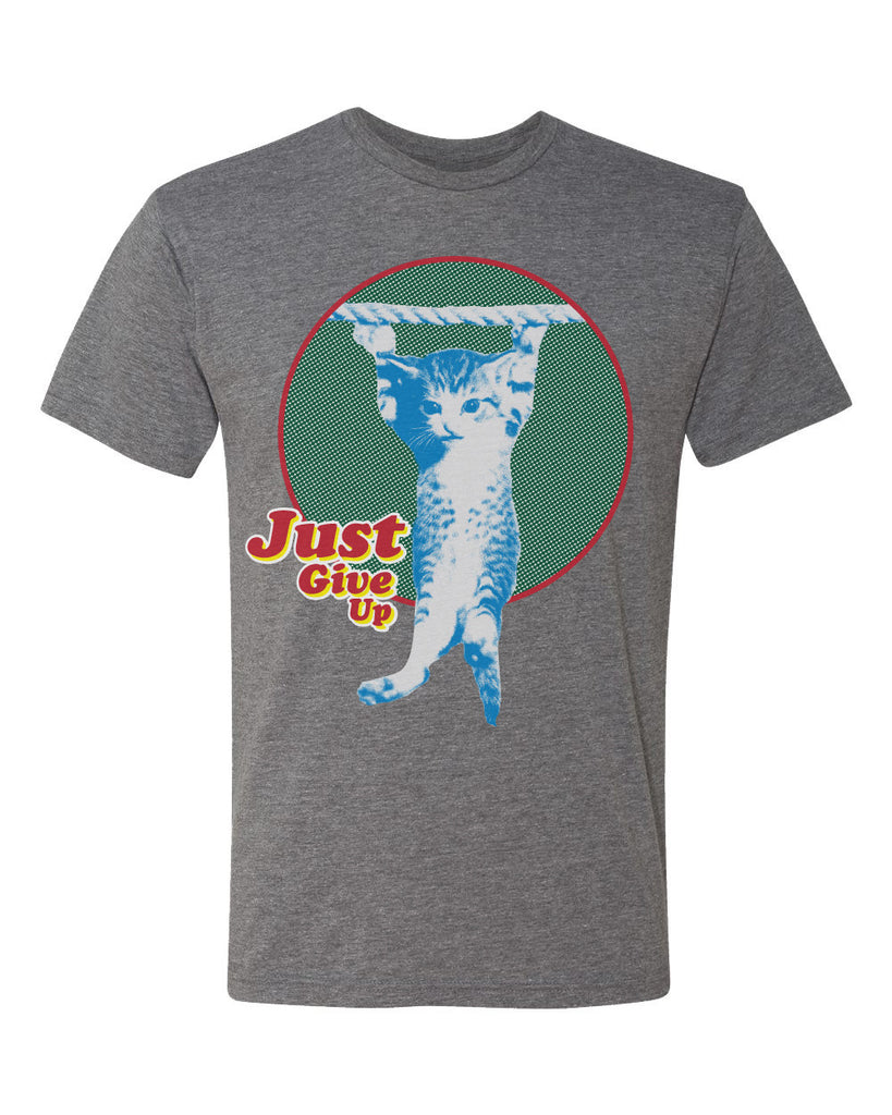 just give up tee - heather gray - (mens)