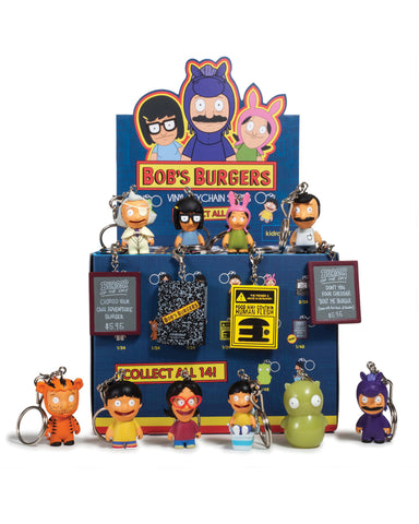 "Kidrobot Bob's Burgers 1.5"" Blind Box key chain Series (Wondercon pickup only)"