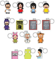 "(Mystery/Blind Box) Bob's Burgers Kid Robot 1.5"" Keychains Series 1 blindbox"