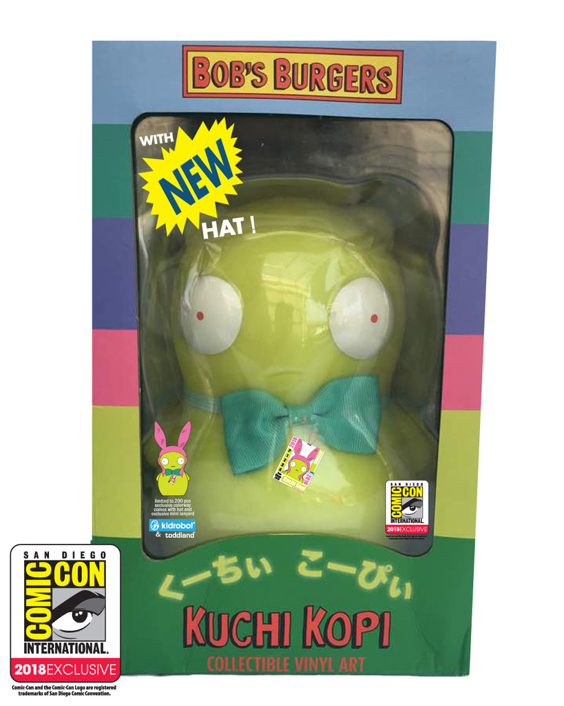 SDCC 2018 Exclusive toddland x Kidrobot Kuchi Kopi (SDCC pickup only) *** LIMIT 1