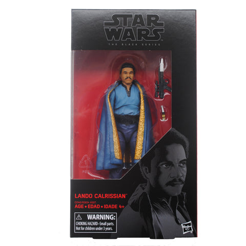 "6"" Star Wars Black Series - Wave 11 - Lando Calrission (backordered, shipping June)"