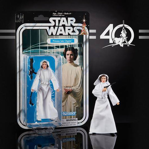 "Hasbro - 6"" Star Wars Black Series 40th anniversary - Wave 1 - Princess Leia (pre-order)"
