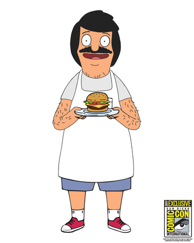 2017 Bob's Burgers - Lil' Bob pillow - edition of 125 pcs (Wondercon pickup only)