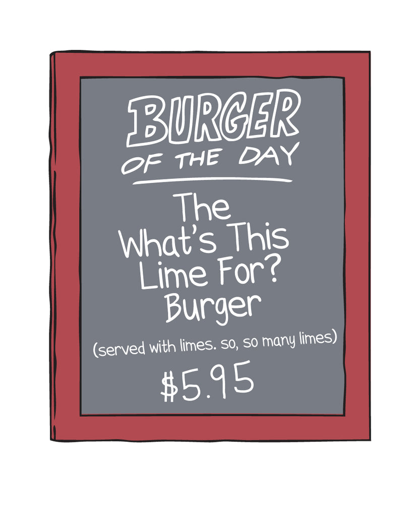 2019 SDCC Bob's Burgers Burger of the day sticker