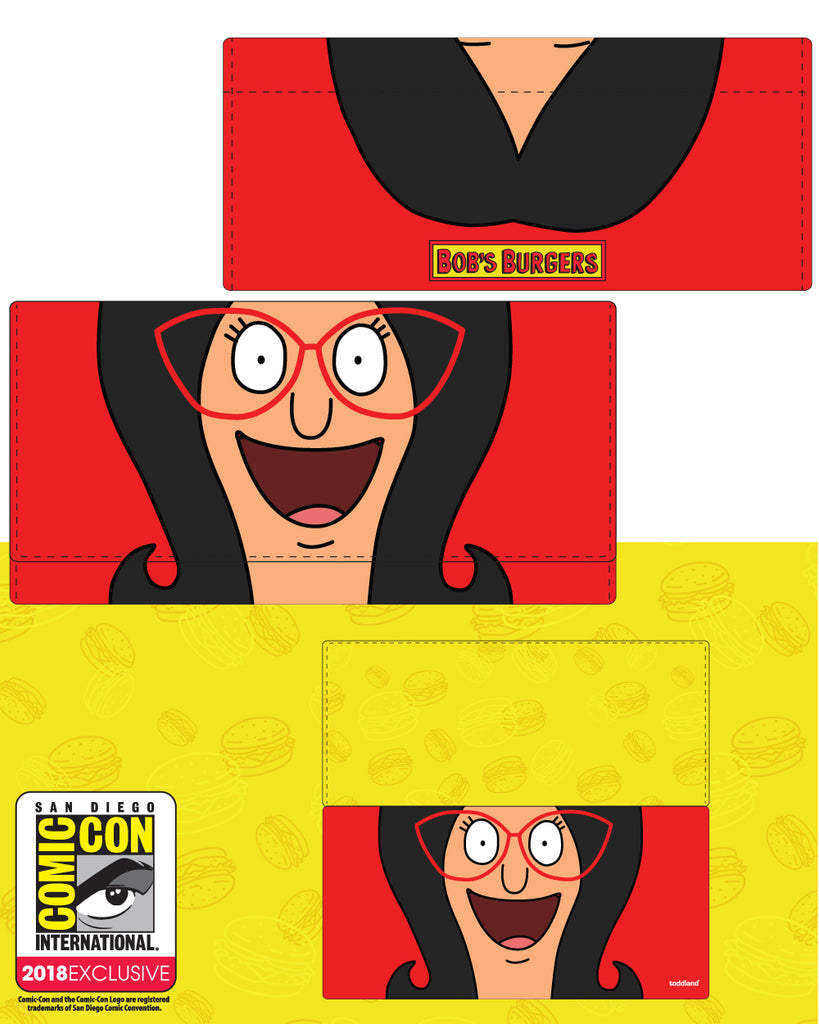 "NYC 2018 Bob's Burgers ""SDCC 2018 Linda ladies wallet"" limited edition of 125pcs"
