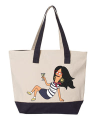2020 Bob's Burgers The Alriight zippered 19L heavy canvas yacht bag