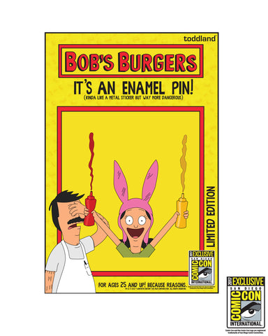 "SDCC 2017 Exclusive - Louise 1.5"" Enamel pin - edition of 200 pcs (SDCC pickup only)"