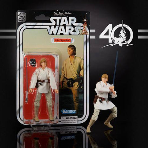 "Hasbro - 6"" Star Wars Black Series 40th anniversary - Wave 1 - Luke Skywalker (pre-order)"