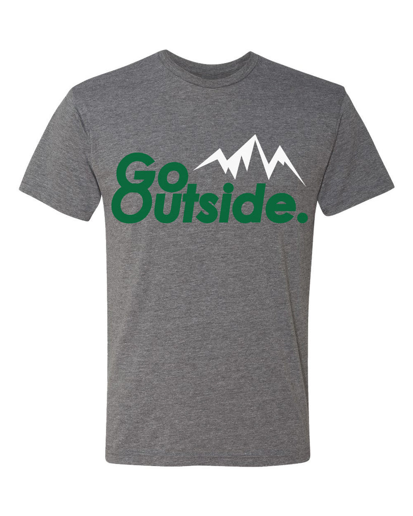 go outside tee - heather gray - (mens)