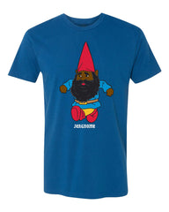 Jergnome tee - cool blue - (mens)