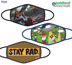 stay rad ADULT face mask - (ESTIMATED SHIP DATE 8/15-8/31)