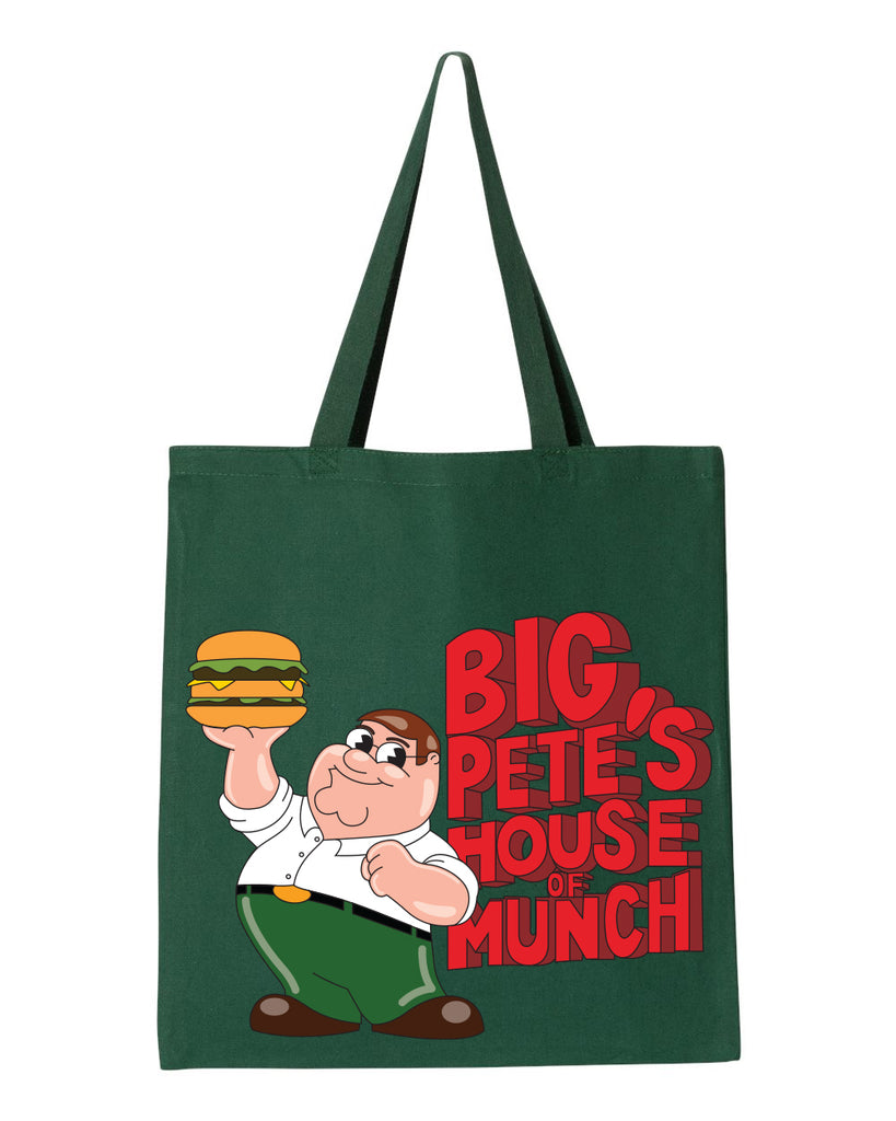 2020 Family Guy House of Munch heavy canvas grocery tote