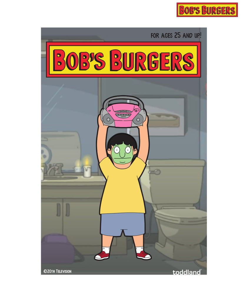 2021 Bob's Burgers Mud Mask Gene pin (limited edition of 175)