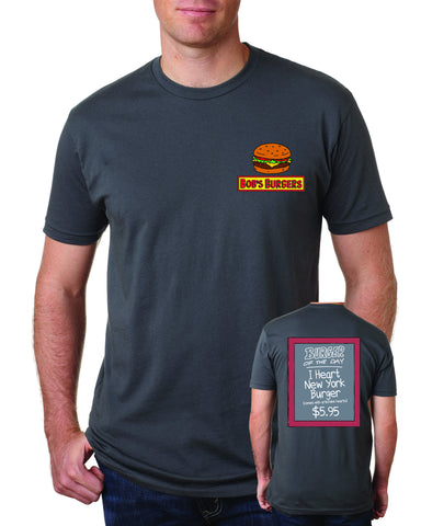 NYCC 2017 Bob's Burgers exclusive tee - dark gray (WONDERCON PICKUP ONLY)