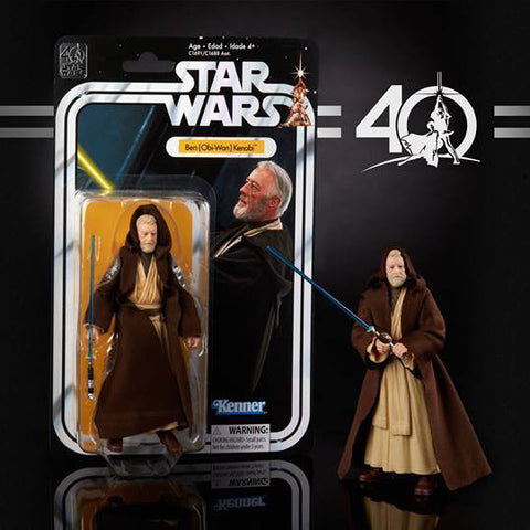 "Hasbro - 6"" Star Wars Black Series 40th anniversary - Wave 1 - Ben (Obi-Wan) Kenobi (pre-order)"