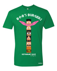 Restaurant Camp tee - green