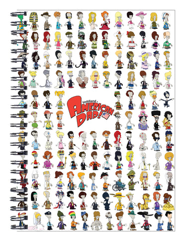 SDCC 2018 5x7 spiral bound Rogers notebook (SDCC pickup only)