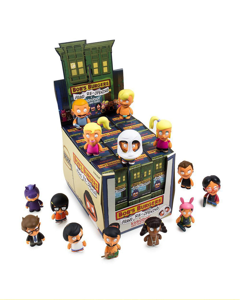 "Bob's Burgers Kid Robot 3"" Series 2 blindbox"