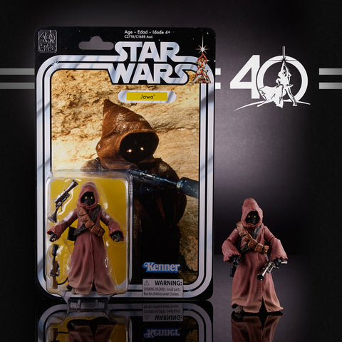 "Hasbro - 6"" Star Wars Black Series 40th anniversary - Jawa"