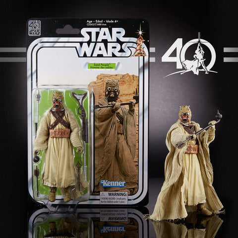 "Hasbro - 6"" Star Wars Black Series 40th anniversary - Tusken Raider"