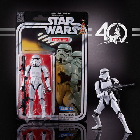 "6"" Star Wars Black Series 40th anniversary - Stormtrooper"