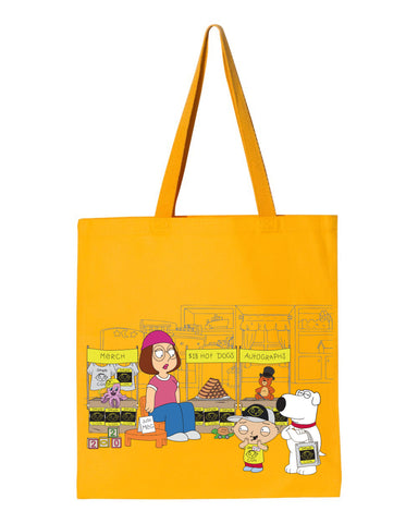 2020 Family Guy Stewie Con (Stewie's Room) heavy canvas grocery tote