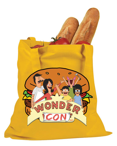 Bob's Burgers Wondercon 2017 Exclusive Wonder Wharf/Con Tote (WONDERCON PICKUP ONLY) le of 50pcs