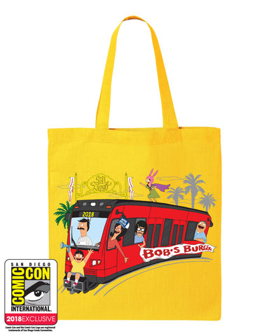 SDCC 2018 Exclusive Trolley Tote (SDCC pickup only)