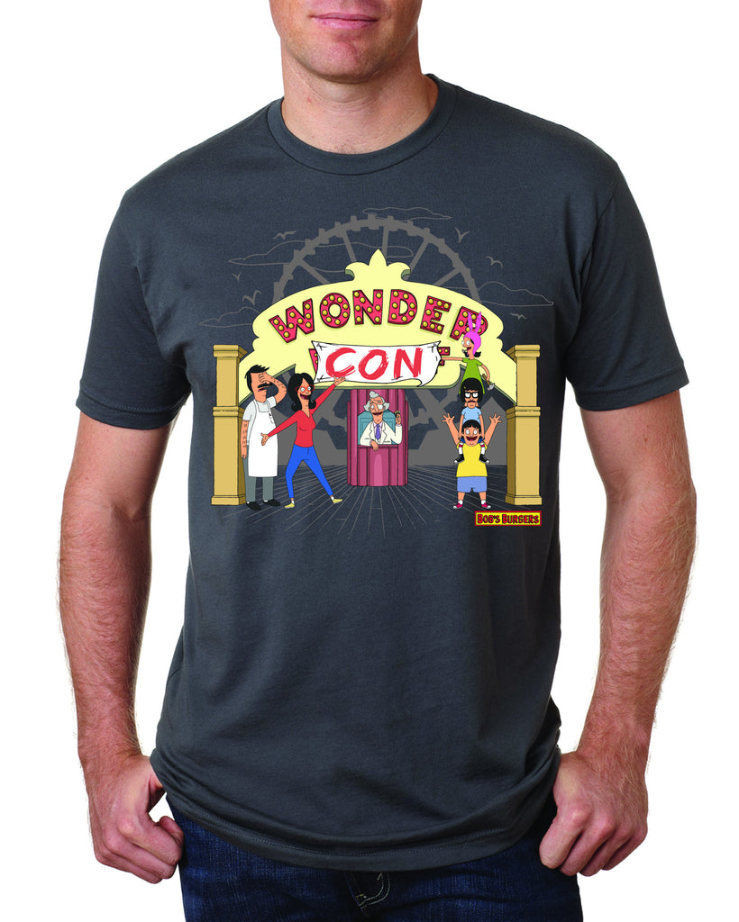 Bob's Burgers Wondercon 2017 exclusive tee - dark gray (WONDERCON PICKUP ONLY) le of 100pcs