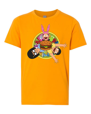 SDCC 2018 YOUTH SIZED trifecta Tee gold (SDCC pickup only)