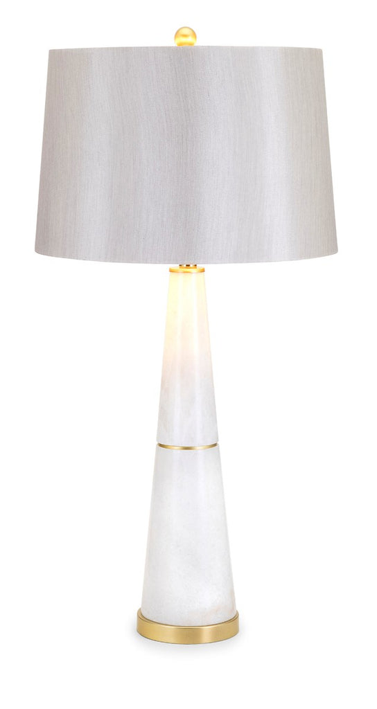TY Luxe Azure Marble Lamp