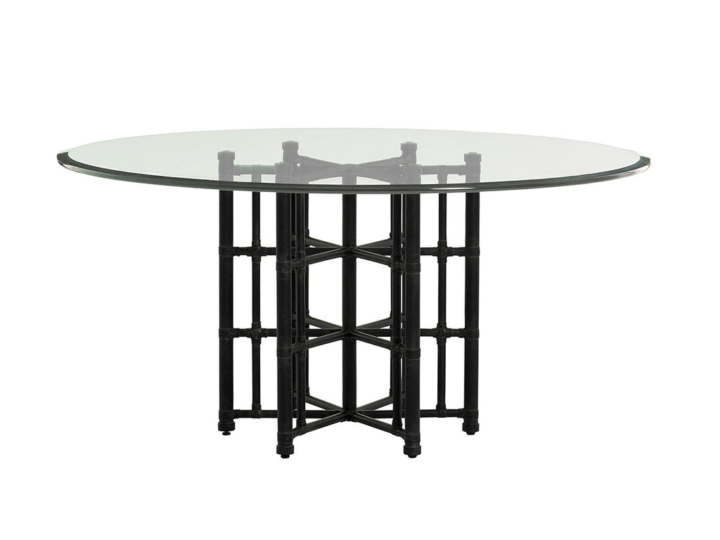 Stellaris Dining Table With Glass Top