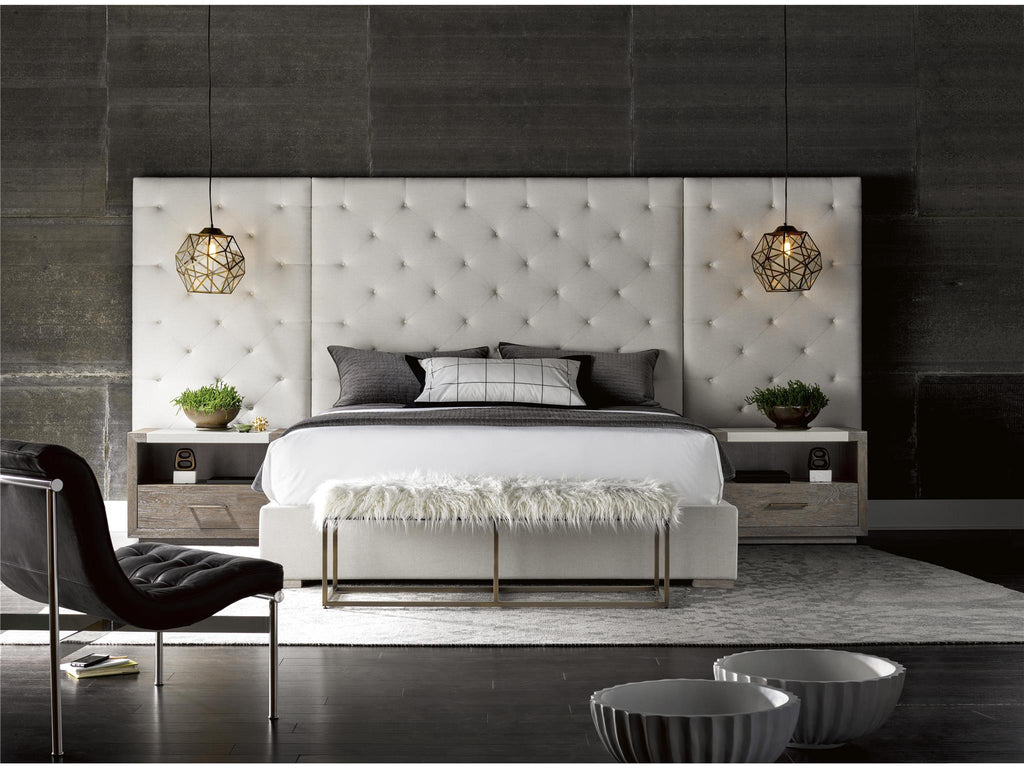 Modern Brando Queen Bed with Panels