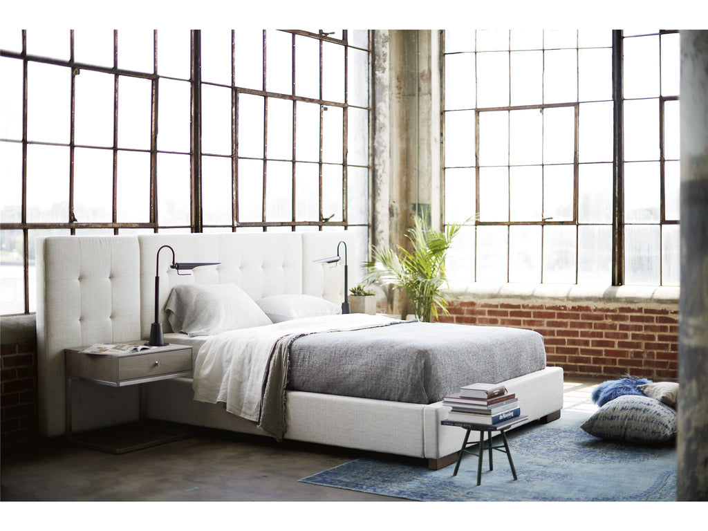 Spaces Brantley Queen Bed with Wall Panels